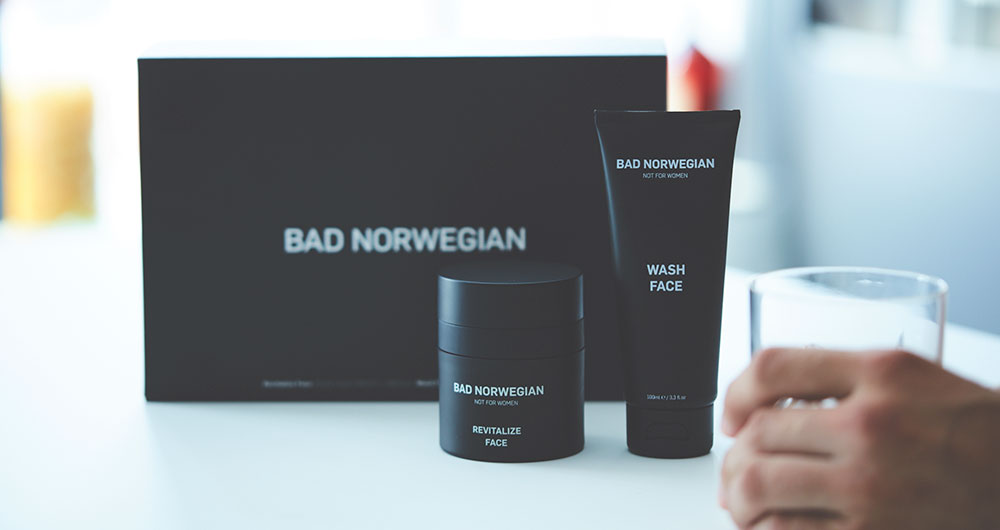 BAD NORWEGIAN Gift Set Face winter and skincare