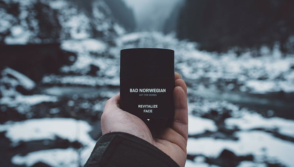 BAD NORWEGIAN Revitalize Face winter and skincare